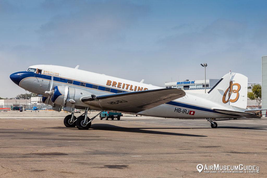 Breitling DC-3 World Tour - Lyon Air Museum