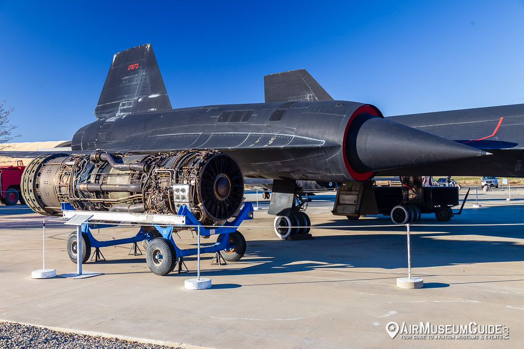 Pratt & Whitney J58 engine & Lockheed SR-71A Blackbird