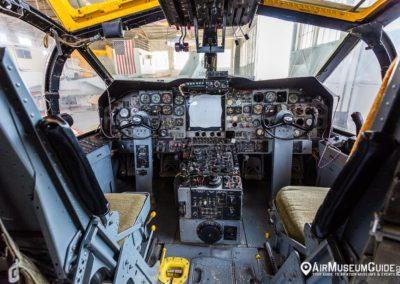 Lockheed P-2V Neptune cockpit