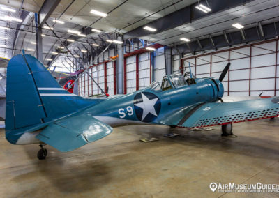 Douglas SBD Dauntless (A-24A Banshee) at the Erickson Aircraft Collection museum in Madras, OR.