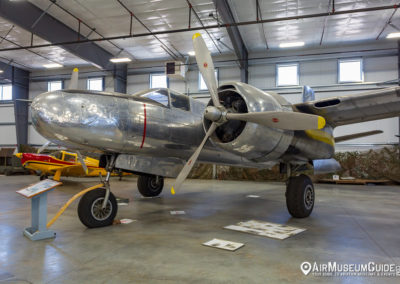 Douglas A-26B Invader at the Erickson Aircraft Collection museum in Madras, OR.