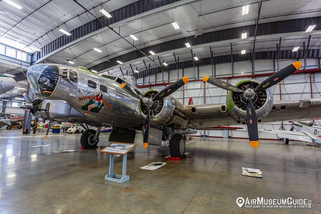 Boeing B-17G Flying Fortress at the Erickson Aircraft Collection museum in Madras, OR.