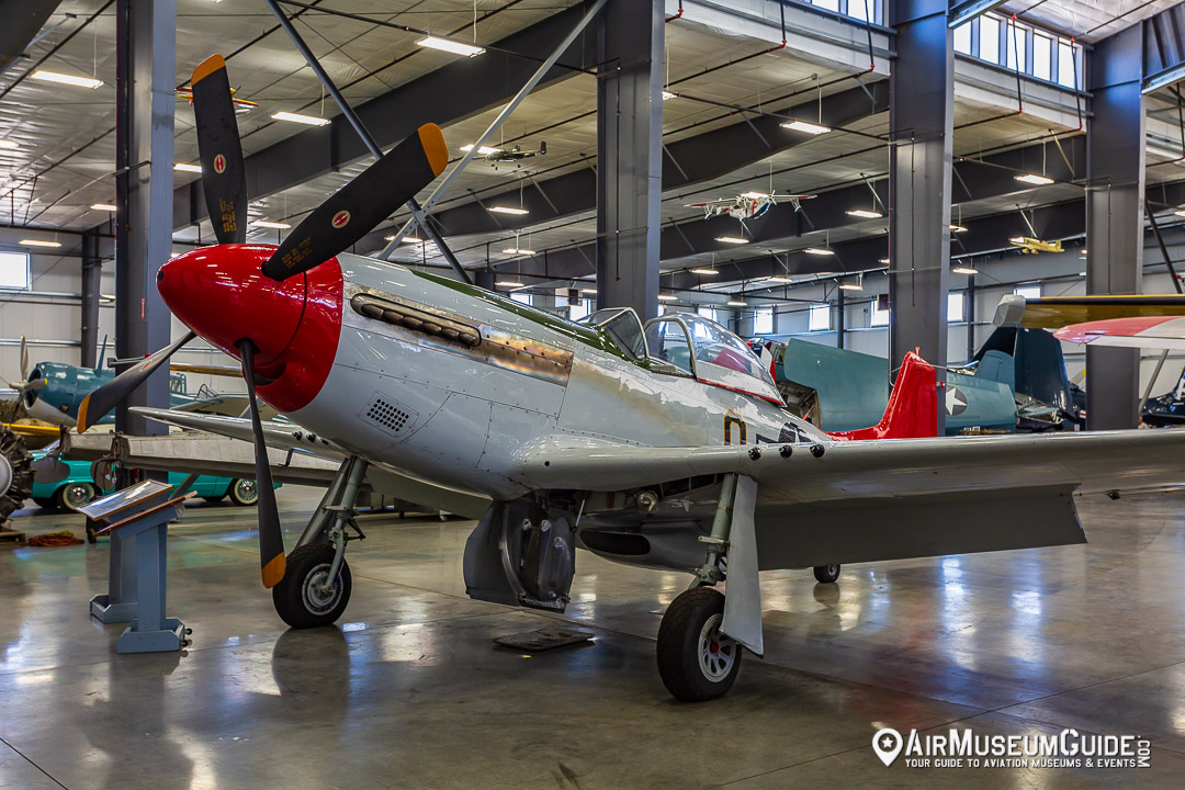 North American P-51D Mustang at the Erickson Aircraft Collection museum in Madras, OR.