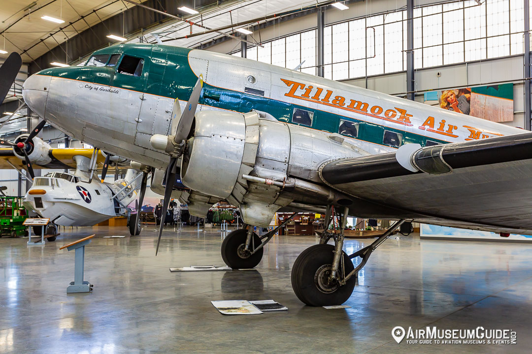 Douglas C-47D Dakota at the Erickson Aircraft Collection museum in Madras, OR.