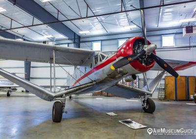 Bellanca Aircruiser at the Erickson Aircraft Collection museum in Madras, OR.