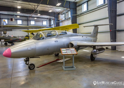 Aero L-29 Delphin at the Erickson Aircraft Collection museum in Madras, OR.