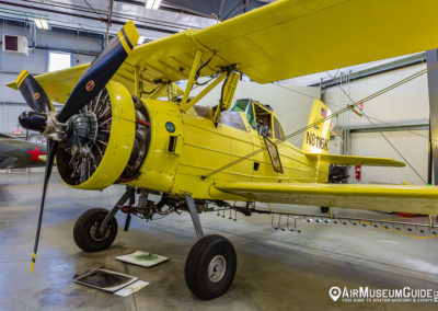 Schweizer (Grumman) G-164 Ag Cat at the Erickson Aircraft Collection museum in Madras, OR.