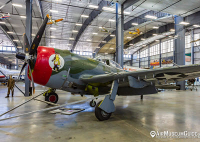 Republic P-47D Thunderbolt at the Erickson Aircraft Collection museum in Madras, OR.