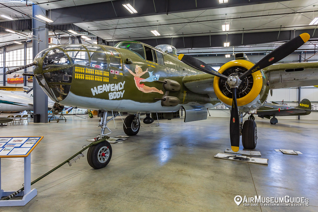 North American B-25J Mitchell at the Erickson Aircraft Collection museum in Madras, OR.