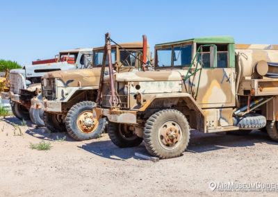 Vehicles at the Estrella Warbirds Museum