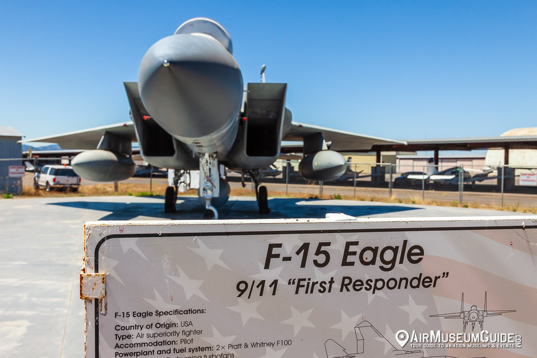 McDonnell Douglas F-15 Eagle (9/11 First Responder)