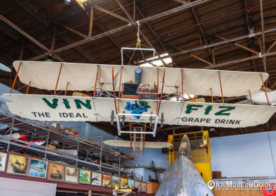 Vin Fiz Flyer replica at the San Diego Air & Space Museum - Gillespie Field Annex