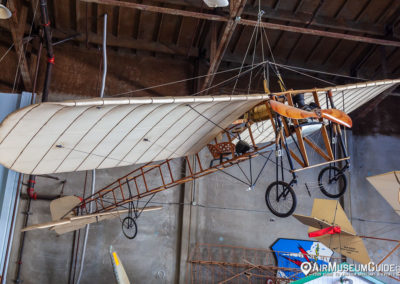 Blériot XI at the San Diego Air & Space Museum - Gillespie Field Annex