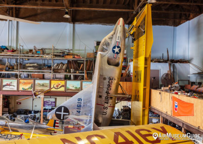Ryan X-13 Vertijet at the San Diego Air & Space Museum - Gillespie Field Annex