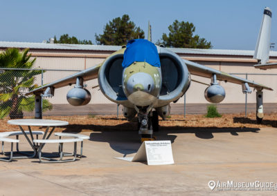 McDonnell Douglas AV-8A Harrier at the San Diego Air & Space Museum - Gillespie Field Annex