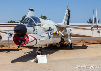 Vought F-8J Crusader at the San Diego Air & Space Museum - Gillespie Field Annex