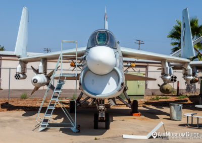 LTV A-7B Corsair II at the San Diego Air & Space Museum - Gillespie Field Annex