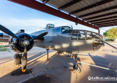 North American B-25J Mitchell at the Lauridsen Aviation Museum