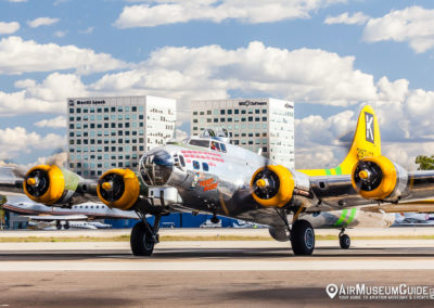 """The B-17G Flying Fortress """"Fuddy Duddy"""""""