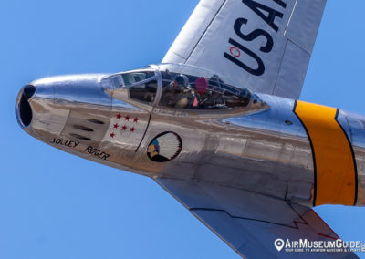 "North American F-86F Sabre ""Jolley Roger"""