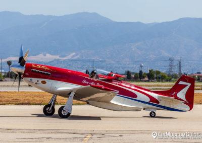 """North American P-51D Mustang """"Strega"""""""