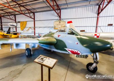 DeHavilland Vampire DH.100 Mk. VI