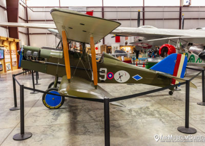 Royal Aircraft Factory S.E.5 scale replica