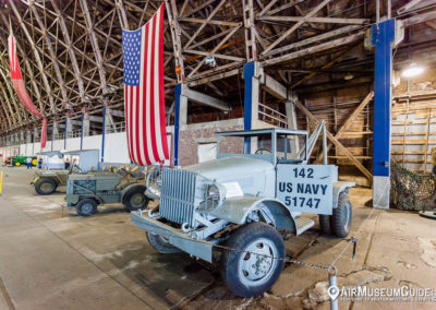 Vehicles at the Tillamook Air Museum