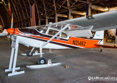 Cessna 180F Skywagon at the Tillamook Air Museum
