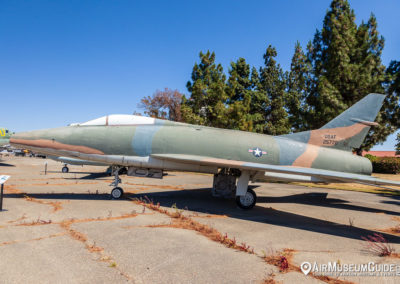 North American F-100A Super Sabre