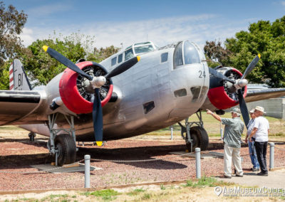 Douglas B-18 Bolo at the Castle Air Museum