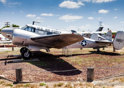 Beech C-45G Expediter at the Castle Air Museum