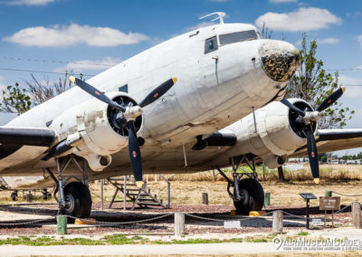 Douglas C-47 Skytrain at the Castle Air Museum