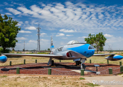 Lockheed F-80B Shooting Star at the Castle Air Museum