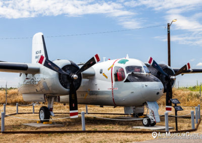Grumman S-2 Tracker at the Castle Air Museum