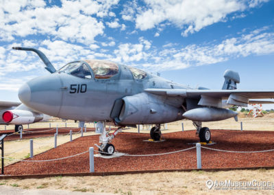 Northrop-Grumman EA-6B Prowler at the Castle Air Museum