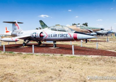 Lockheed F-104B Starfighter at the Castle Air Museum