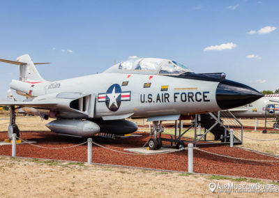 McDonnell F-101B Voodoo at the Castle Air Museum