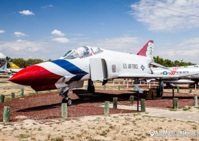 "McDonnell F-4E Phantom ""Thunderbirds"" at the Castle Air Museum"