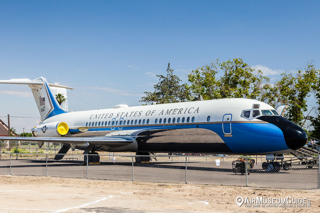 McDonnell Douglas VC-9C Presidential Transport at the Castle Air Museum