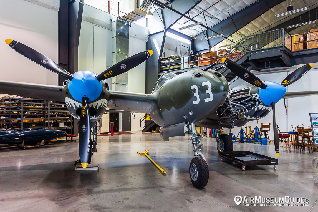 Lockheed P-38F Lightning