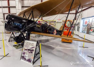 Waco JYM Mailplane (flown by Charles Lindbergh)