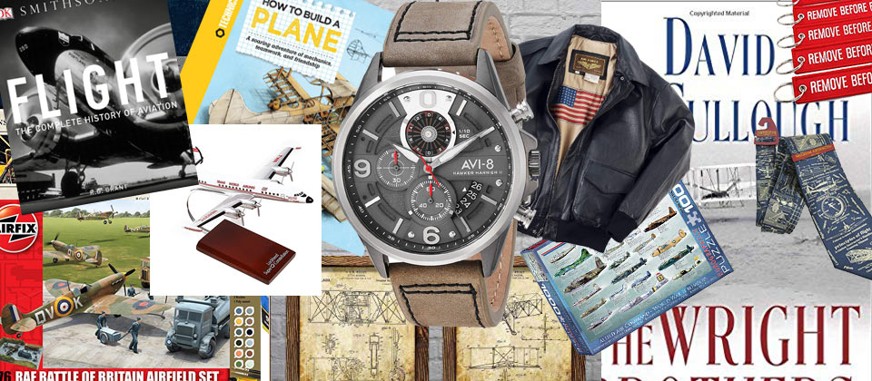 Great gift ideas for aviation enthusiasts