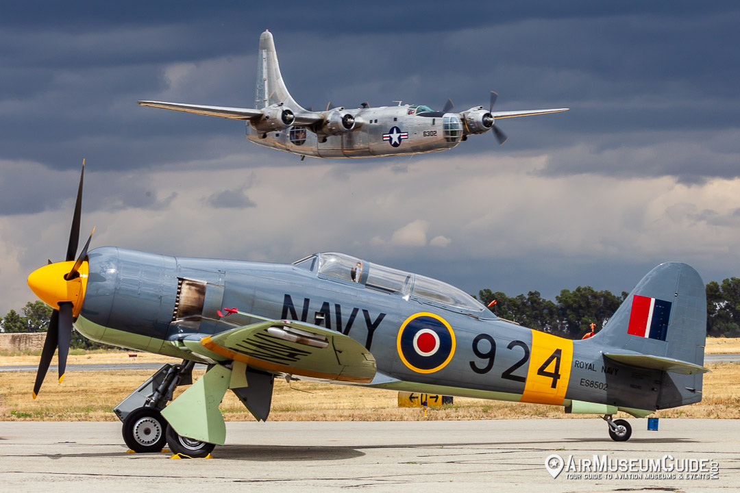 Consolidated PB4Y-2 Privateer & Hawker Sea Fury T Mk.20