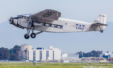 "Ford Trimotor and B-17 ""Aluminum Overcast"" rides at the Long Beach airport"