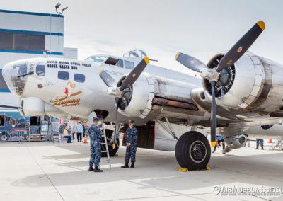 """Boeing B-17G Flying Fortress """"Aluminum Overcast"""""""