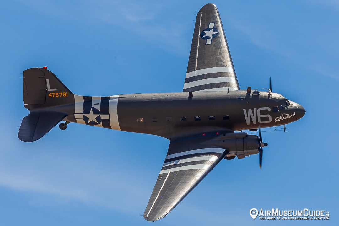 Douglas C-47 Skytrain from the Lyons Air Museum