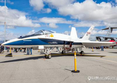 McDonnell Douglas F/A-18A Hornet - NASA chase plane