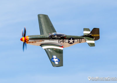 North American P-51 Mustang from the Planes of Fame Air Museum, Chino