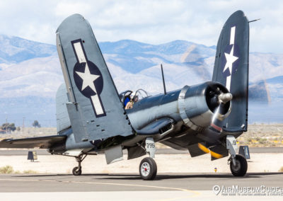Vought F4U-1 Corsair from the Planes of Fame Air Museum, Chino